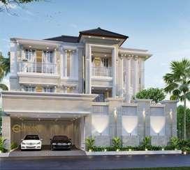 Jasa Arsitek Tangerang Desain Rumah 782m2 - Emporio Architect