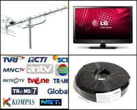 Spesialis Pasang Sinyal Antena Tv Siaran Nasional Uhf