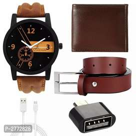 Men's watches with accessories