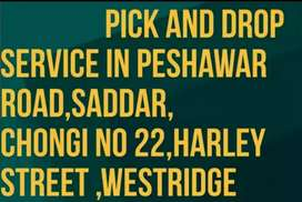 Pick and drop Haley Street saddar to Islamabad