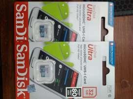 Kartu memory SanDisk 32gb