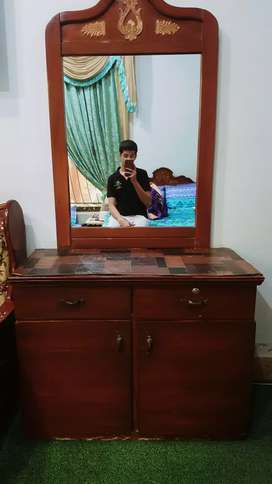 Dressing table of pure wood  in a well condition