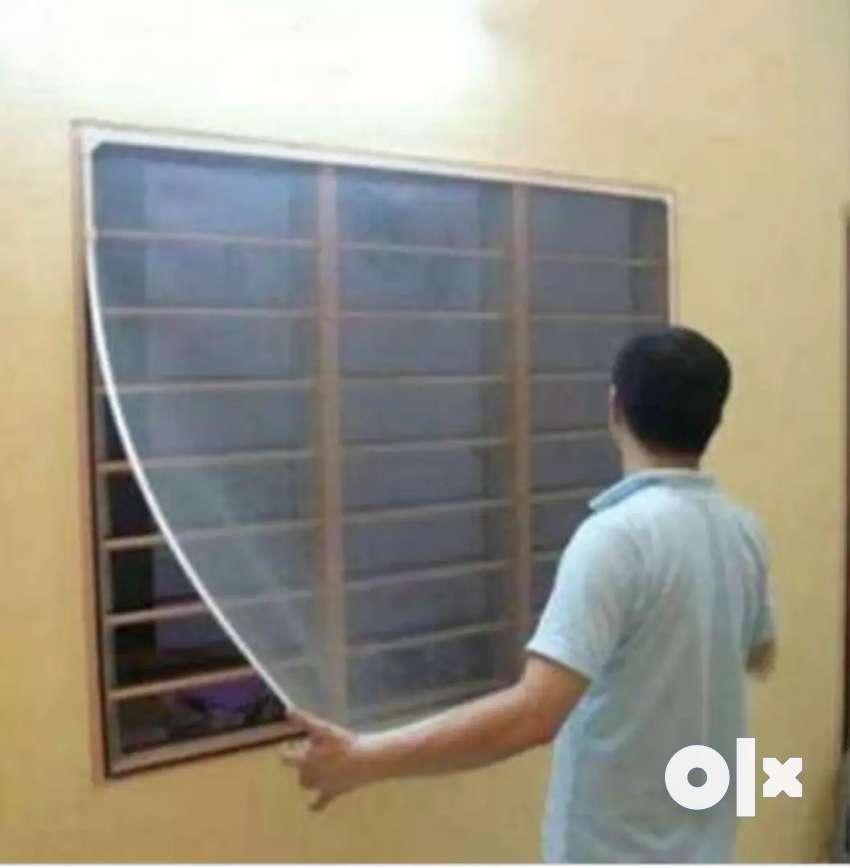 Mosquito net per square feet 30/-With fitting