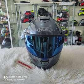 Helm modular half n full face 2nd ori HJC is max 2 flip up