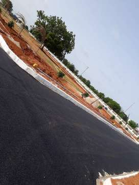 506 Sq Yrd Low cost open Plot in Srisailam Highway Faicng venture