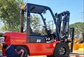 jual Forklift 2,5 – 3 – 5 – 7 – 10 Ton Murah di Palembang