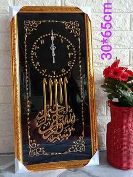 Jam Kaca Kaligrafi