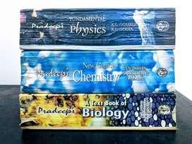 Class XI Pradeep Guide Bundle (Physics-Chemistry-Biology) 08-09: Used