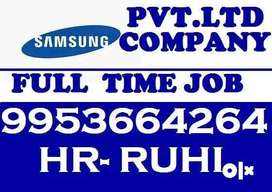 Need candidates for stire keeper job in Samsung Electronics India Pvt
