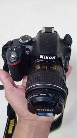 Kamera Nikon D3200 Mulus Seperti Baru Lengkap Semua