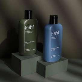 PROMO YA-HAIR & BODY WASH KAHF RELAXING ENERGIZING MEMBERSIHKAN RAMBUT