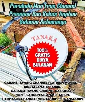 TANAKA PARABOLA TANPA BERLANGGANAN KAB. MANDAILING NATAL (SUMUT)