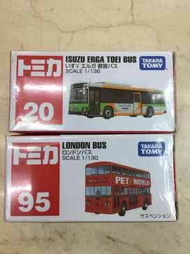 Tomica Isuzu Bus Jepang/ London Bus