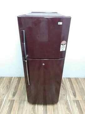 LG maroon 5 star double door 240 ltrs refrigerator