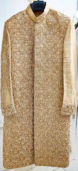 Sherwani with khussa for sale