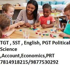 Sr. World  School   For Panchkula  Required TGT  English /Maths/Englis