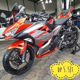 Kawasaki Ninja 250 ABS-MDP 2019, Kilometer 2rb-Termurah, Mustika Motor