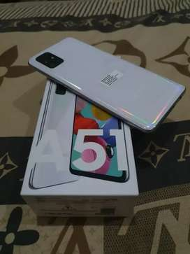 Samsung A51 warna putih 6/128 garansi resmi SEIN 10 bulan