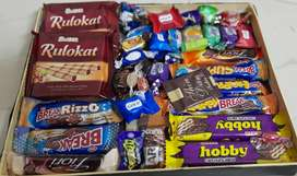 Original imported sweet-chocolate _candies -snacks