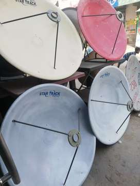 All channel dish