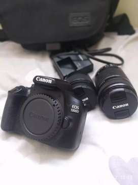 Canon 1300d with dual lens