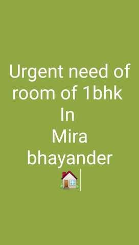 Urgent rent room