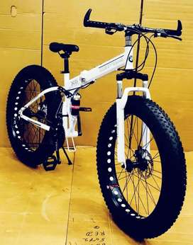 Bm fat foldable 21 Gear shimano New cycle available