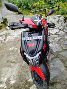 Tvs ntorq just 2 month old hurry up