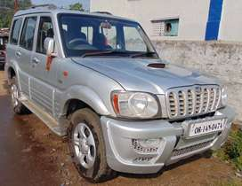 Scorpio in well maintained condition silver color