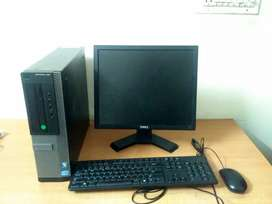 HP Dual core slim and thin complete pc available