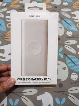 Power Bank ori samsung wireless