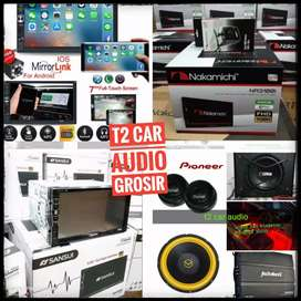 Grosir 2DIN TV ANDROIDLINK 7INC DHD SANSUI NAKAMICHI/PAKET AUDIO