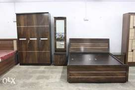 Brand New Factory OutLet Price(6*5 bed +3Door Wardrobe+Dressing)