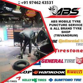 Mobile Tyre Puncture Service Trivandrum Tyre Dealer Trivandrum