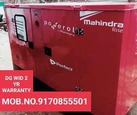 Generator with 2 year warranty