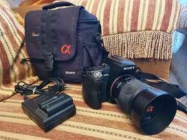 Kamera Sony Alpha A500 Kit Lensa SAL 18-70 (langka) Bonus Tas Lowepro