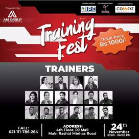 Training Fest - AVAIL 12+ TRAININGS ON DIVESIFIED TOPICS  (Certified)
