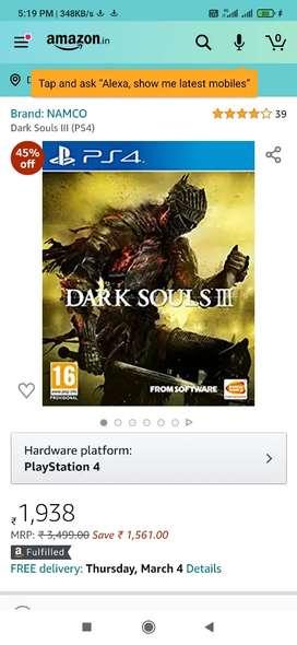 Ps4 dark souls 3 and bloodborne