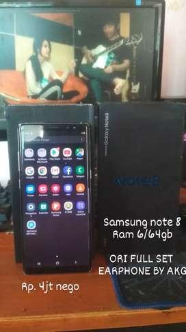 Samsung S8 6/64 Ori Fullset