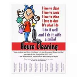 Femal house maid required