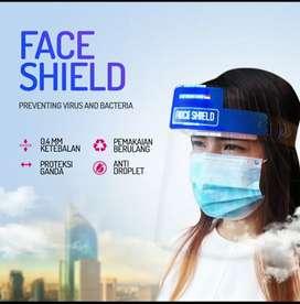 Face shield original pabrik anti embun dewasa dan baby