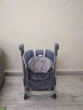 High chair for sale. Product is of Gracco brand made in USA