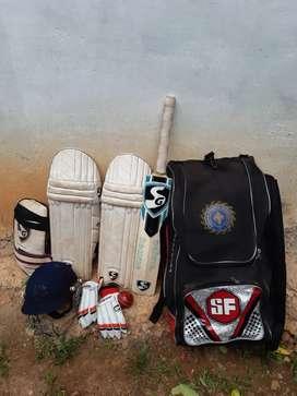 SG full cricket kit