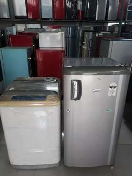 Dhamaka ofrer on Combo sngle door fridge n topload fully automatic w/m