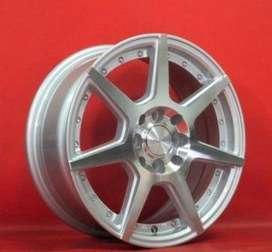 velg hsr wheel ring 16x7 pcd 4x100-114 bisa utk avanza,freed,vios