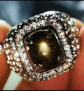 Natural 12 ray star sapphire memo skylab 3.42 crt