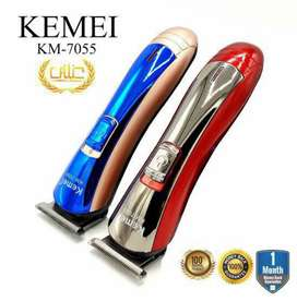 Kemie Hair& beard  Trimmer7055.with special discount.