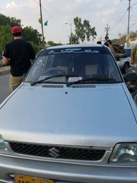 mehran vxr 2007 excellent condition ac cng petrol factory fitted