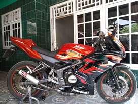 Ninja rr 2015 plat f Bogor kabu