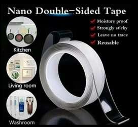 Double Tape Lem Bolak Balik Terang Tahan Air